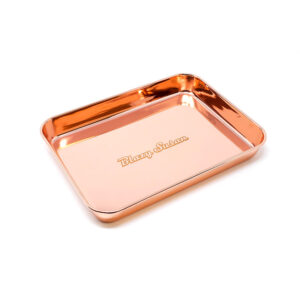 Stainless Steel Rolling Tray, Rose Gold
